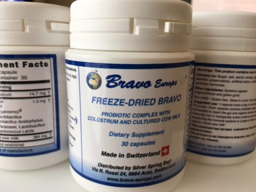 Bravo Probiotic Freeze Dried Concentrate