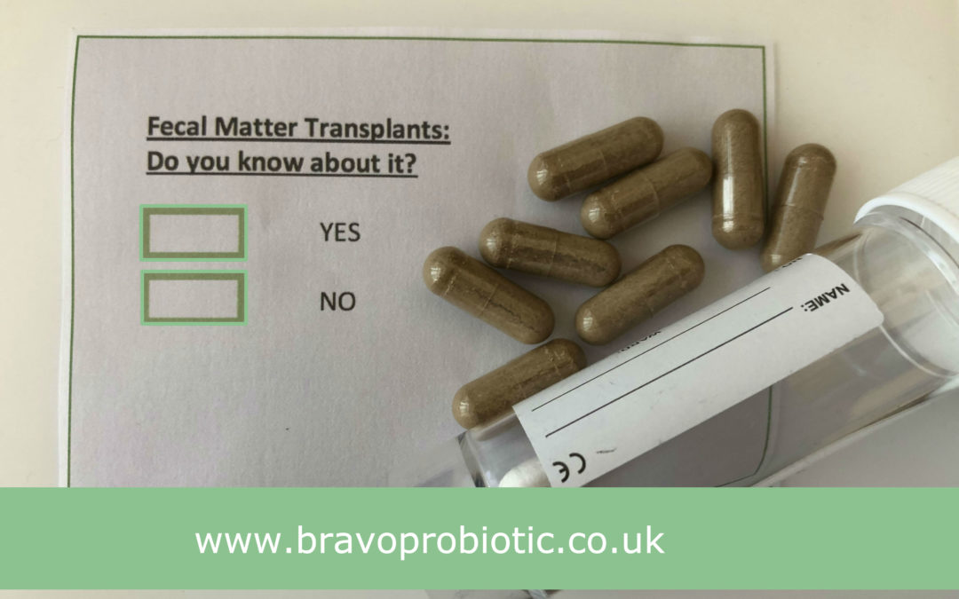 Bravo suppositories and Fecal Microbiota Transplantations (FMT)