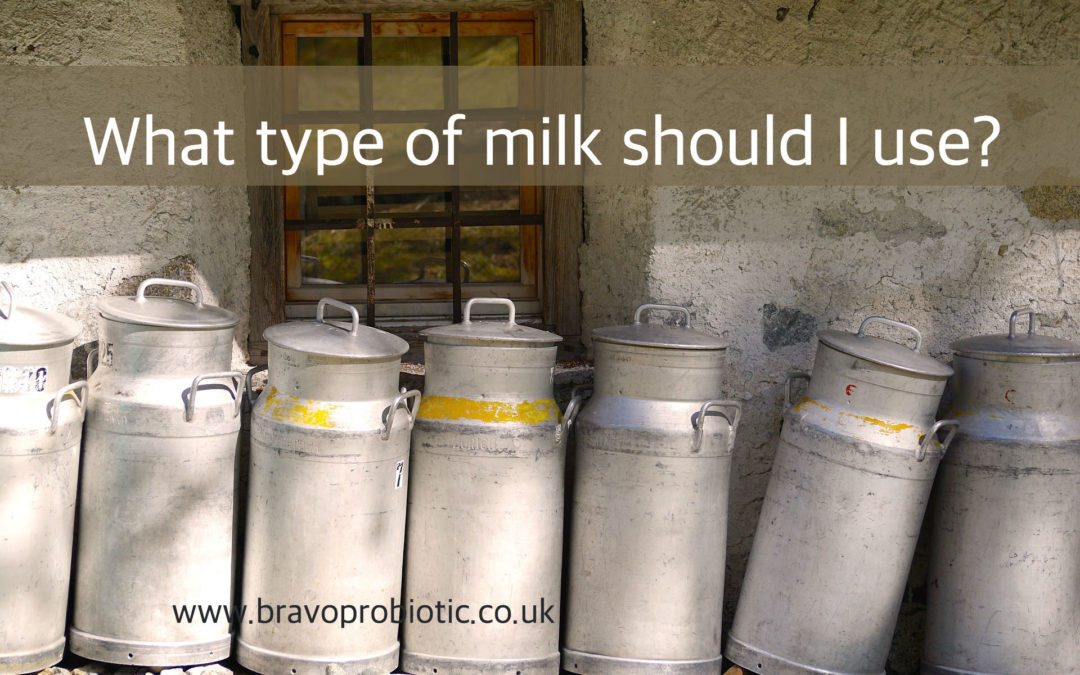 What Type of Milk Should I Use?